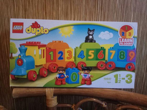 Lego Duplo, поезд , счёт, новый