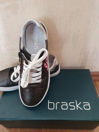 Braska Кожаные полуботинки, туфли, кеды, кросовки р.36