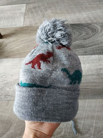 шапка, шапочка с динозаврами