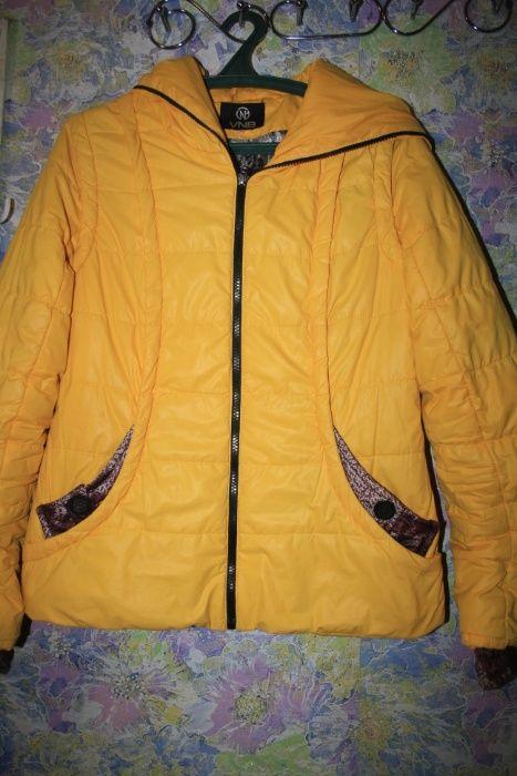 курточка осінь весна жовтого кольору Малин - изображение 1