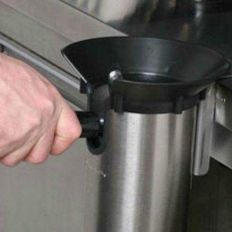 Máquina Extratora (tulha) de borras de café