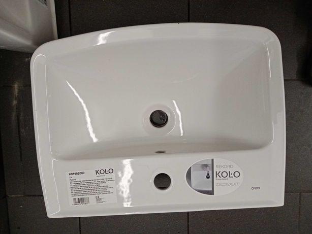 Nowa umywalka meblowa marki KOŁO 50 CM, z otworem