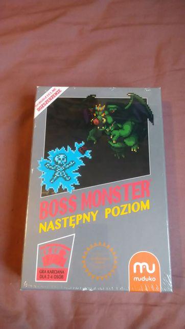 Nowa gra Boss Monster Nastepny poziom gra karciana pixelbox