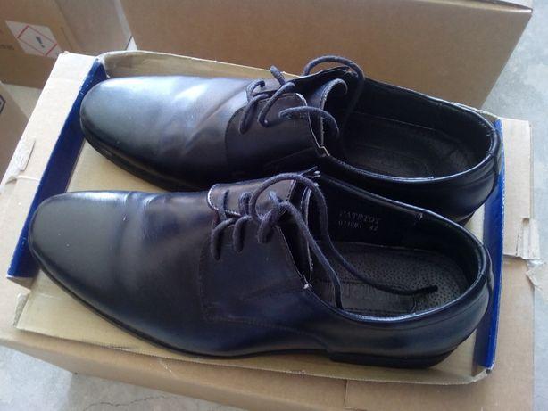 Кожаные мужские туфли ТМ PATRIOT Патриот, Украина, р. 42