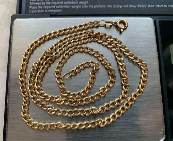 Łańcuszek złoty męski próba 585