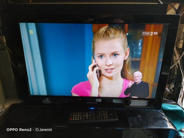"ORION Ekstra Sprawny TV LED 24"" Full HD DVBT Mpeg4 HDMI DVD USB pilot!"