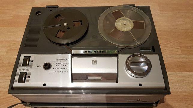 Magnetofon szpulowy ZK 120 UNITRA GRUNDIG pamiątka PRL