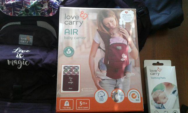 Эрго-рюкзак love&carry air baby carrier. Цвет magic + подарок