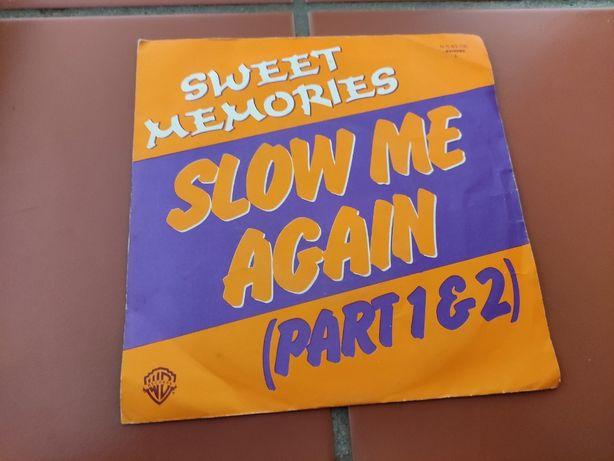 Disco Vinil Sweet Memories- Slow Me Again