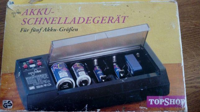 Szybka ładowarka akumulatorów/baterii Edutec (na pięć sztuk baterii)