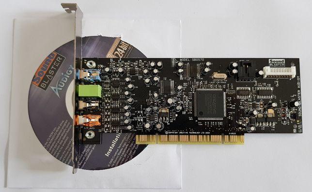 Placa de som - Creative Sound Blaster Audigy SE SB0570