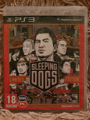 Gra ps3 sleeping dogs limited edition prezent