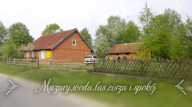 Domek  siedlisko Mazury okolice Ełku Stacze działka 4700m2