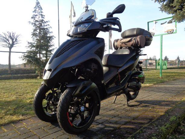 Piaggio MP3 Yourban LT 300cc L5E Kat.B Black Edition + dodatki + akrap