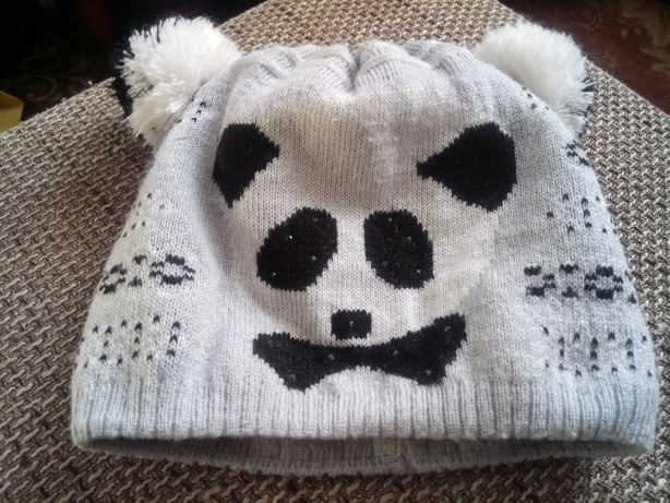Шапочка панда, шапка