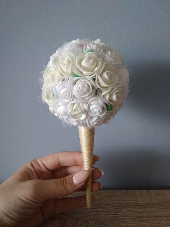 Bukiecik bukiet z róż rózyczek piankowych