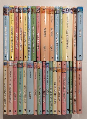 Cała kolekcja Biblioteki NTO-stan niemal idealny-bestsellery-33książki