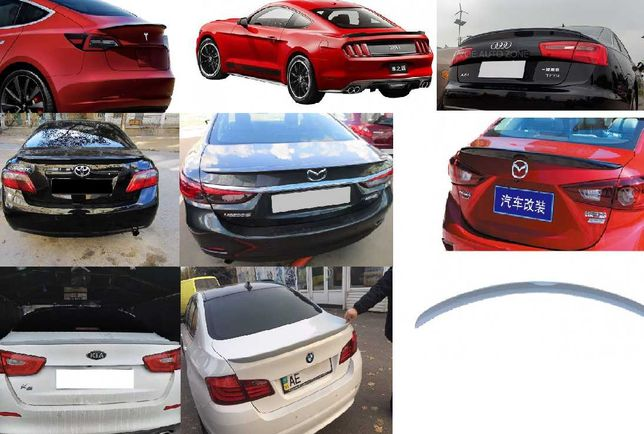 СПОЙЛЕР Tesla Mustang Camry 40 Audi A6 Mazda 3 6 Corolla Accord 8 Kia