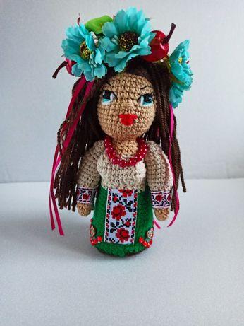 Кукла украиночка. Интерьерная кукла. Сувениры в украинском стиле.