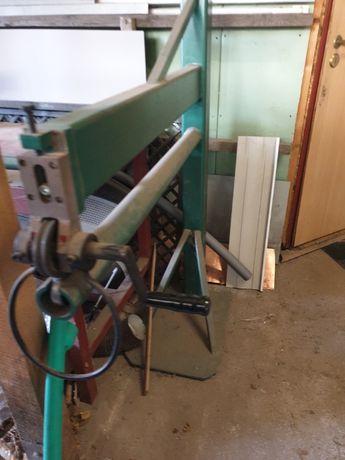 Maszyny do produkcji rynien i rur spustowych