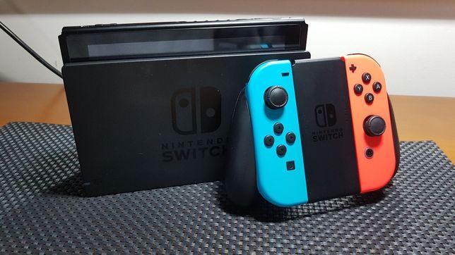 Nintendo Switch V2 c/ garantia e extras
