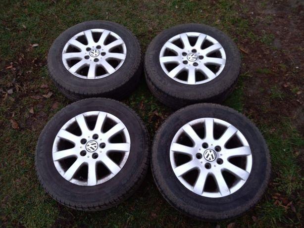 Opony letnie Michelin 195/65/15 + Alufelgi 15. 5x112 6.5Jx15H2 ET50