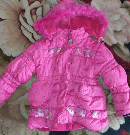 Курточки на девочку 5-8 лет