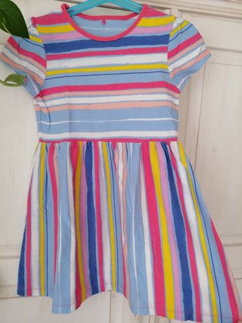 Sliczna sukienka letnia 110-116 george