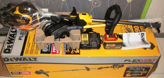 Коса аккумуляторная, триммер DeWalt DCST970X1 Flexvolt (DCM571X1)