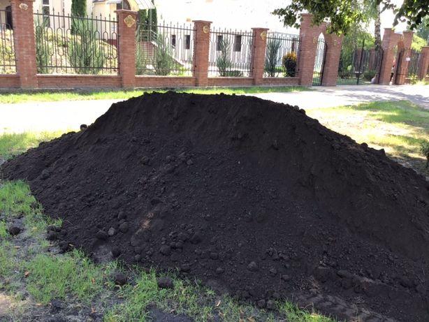 Чернозем плодородный,грунт под газон