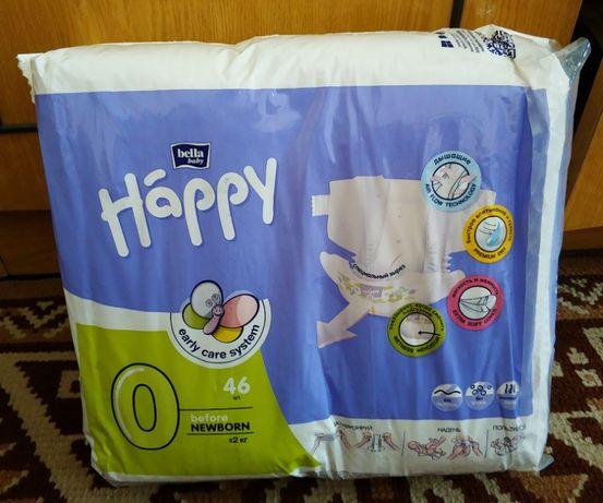 Подгузники детские Bella Happy Before Newborn 0-2 кг 46 шт