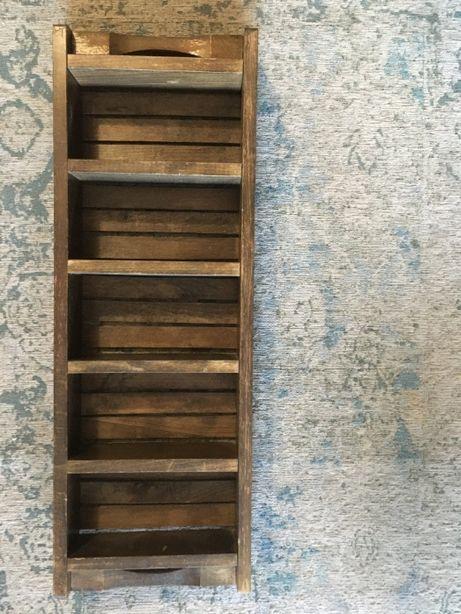 półka kaszta drewniana