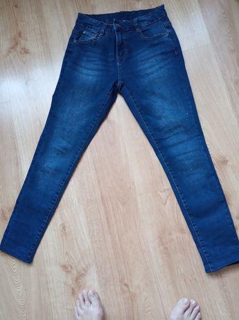 Spodnie dżinsowe z kryształkami