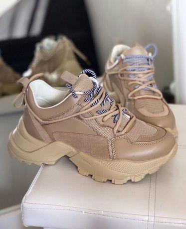 Кроссовки ботинки боты на тракторной подошве