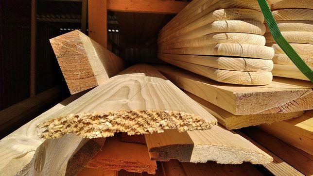 Boazeria, deska elewacyjna, sztachety, deska tarasowa