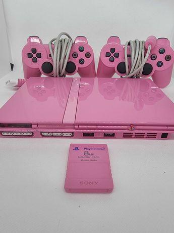 Consola Playstation 2 Pink Edition - Rara