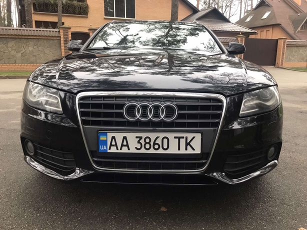 AudiA4 S-line2011 Европа