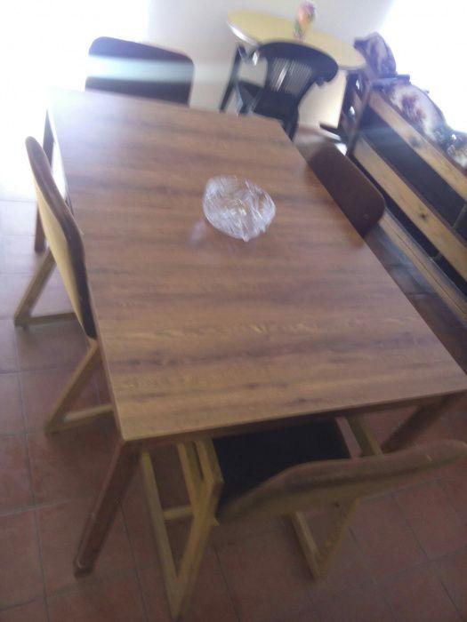 Conjunto Mesa e 4 cadeiras Apúlia E Fão - imagem 1
