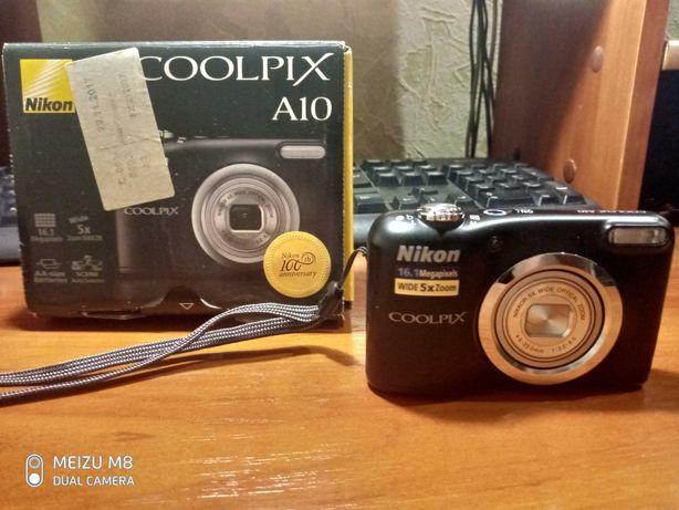 Продам фотоаппарат Nikon COOLPIX A10