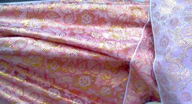 Ткань парча, отрез ткани, на костюм, на пиджак, 4 м х 0,9 м