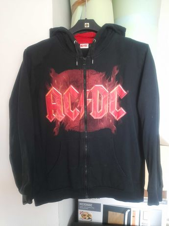 Bluza AC/DC, rock, z kapturem, rozmiar L