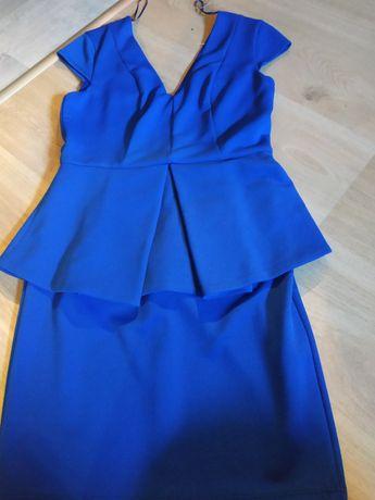 Sukienka z baskinką