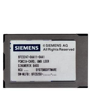 Software SIEMENS 6FC5250-5BX30-3AH0