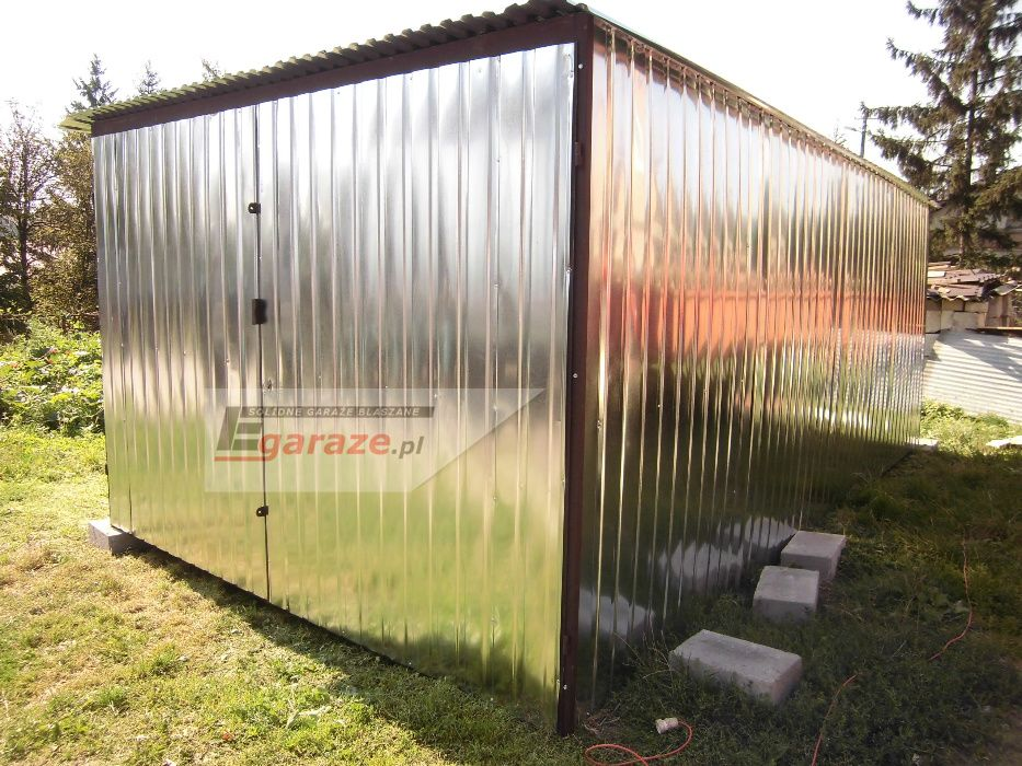 3x5 garaż blaszany, wiaty, hale, magazyny, kojce, schowki, Cały Kraj Sochaczew - image 1