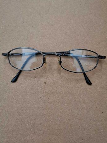 okulary - włoskie oprawki dziecięce - używane