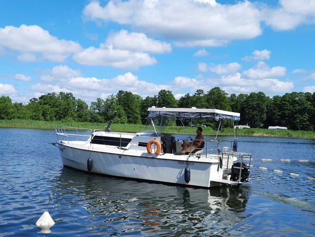 Kanał Augustowski, czarter barka, houseboat, spacerowy jacht motorowy