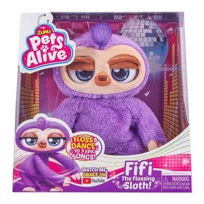 Интерактивная игрушка Pets Alive Ленивец-танцовщик, інтерактивна іграш