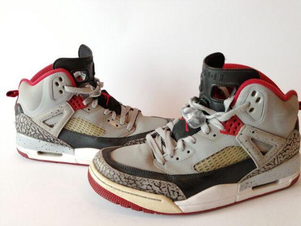Nike Air Jordan Spizike WOLF GREY Red Cement
