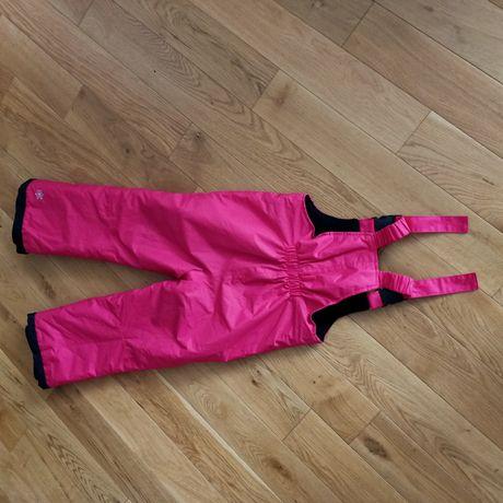 Spodnie ciepłe, narciarskie stan idealny 110/116cm