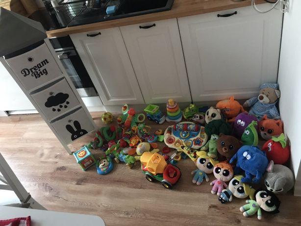 Zestaw zabawek regal na zabawki